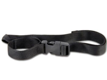 Powakaddy upper bag strap 25mm wide and 780mm, with looped Ends, and buckle fastening