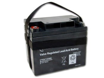 Battery Carry strap for lead acid golf batteries, used on 25/26amp golf battery,