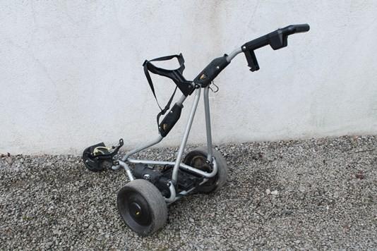 Golf Gear Deals Used Powakaddy Free way electric golf trolly