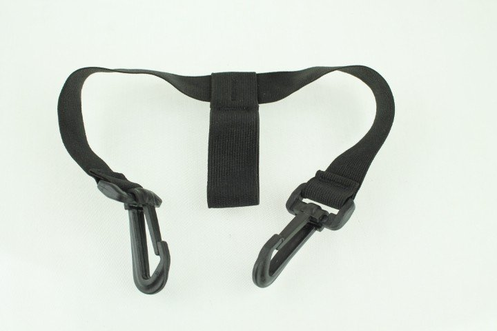 Powakaddy Lower bag strap for holding your Golf bag, elasticated with hook Clips