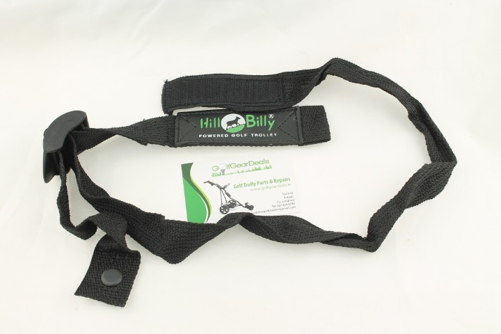 Hill Billy upper bag strap, Velcro type fastening, 40mm wide and 1000mm long