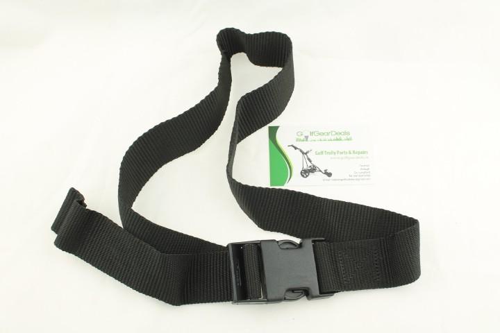 Upper bag strap 40 mm wide for secureing your Golf bag, Buckle fastening
