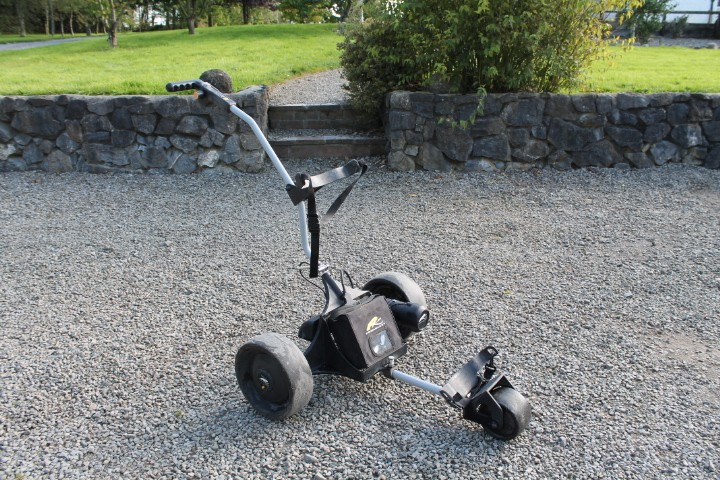 Used Powakaddy Classic Legend golf trolly, Exellent condition Fully serviced