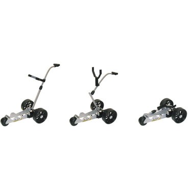 Golf Glider Micro Lite golf trolly, made in Dublin. Quality and fully reliable golf trolly
