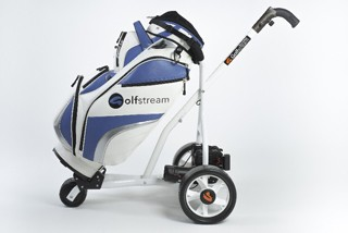 Golfstream revolution Golf trolly with unique Folding system