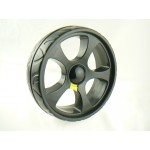 5 Spoke black Powakaddy Sport Wheel, for all quick release, this is a Quality spurious Part