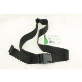 Upper bag strap 40 mm wide for secureing your Golf bag, Buckle fastening