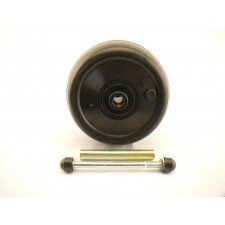 Powakaddy front wheel assembly kit for All Freeway compact,Classic, & Classic legend Golf Trolly's, complete with Axle