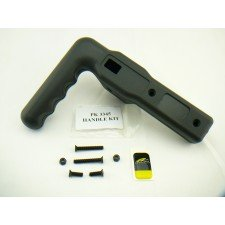 Powakaddy L handle for older Analogue trolley, genuine powakaddy replacement parts
